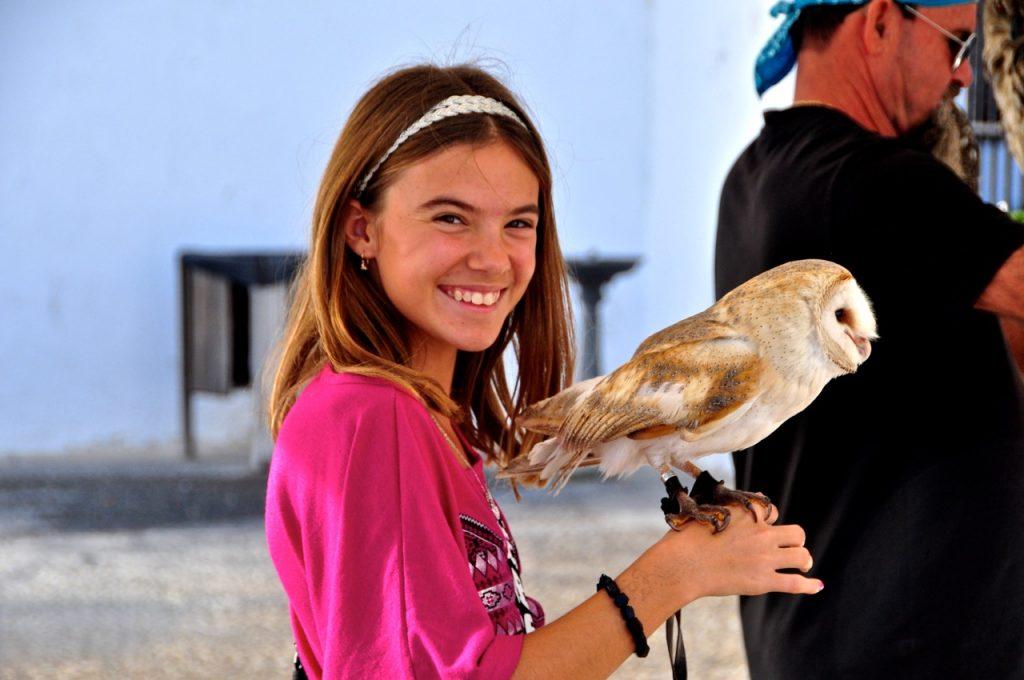 Reka with Owl