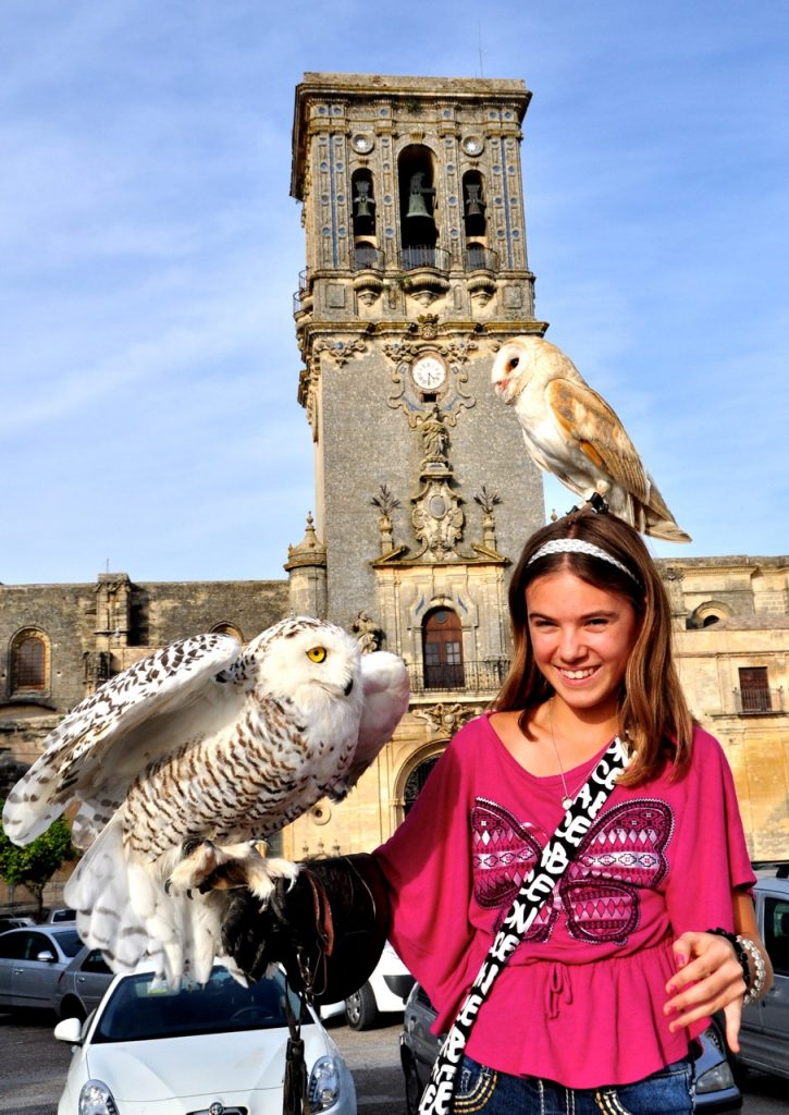 Reka with owls